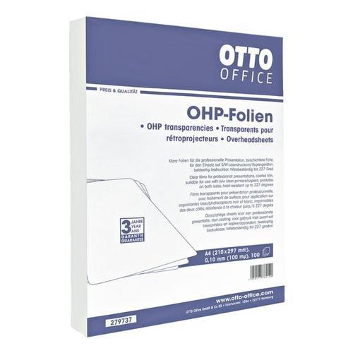 OHP-S/W-Laserfolien transparent, OTTO Office