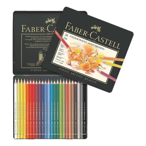 24er-Etui Farbstifte »Polychromos«, Faber-Castell