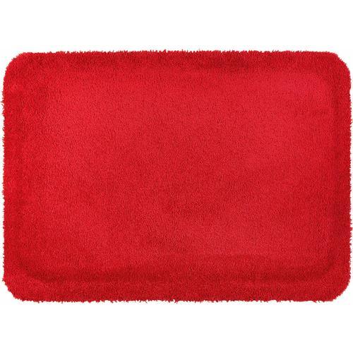 wash+dry by Kleen-Tex Fußmatte Stand on Uni, rechteckig, 21 mm Höhe, Schmutzfangmatte rot Schmutzfangläufer Läufer Bettumrandungen Teppiche