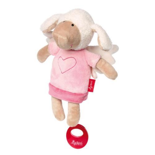 Baby Spieluhr Kuscheltier Schutzengel Schaf Sigikid mit Tasche