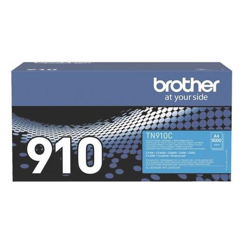 Ultra-Jumbo-Toner »TN-910C« blau, Brother