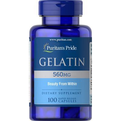 Puritan's Pride Gelatin 560 mg-100 Capsules