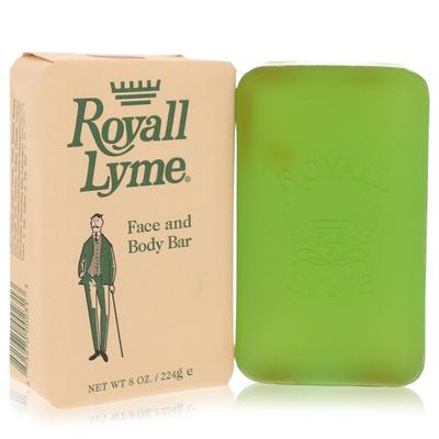 Royall Lyme For Men By Royall Fragrances Face And Body Bar Soap 8 Oz