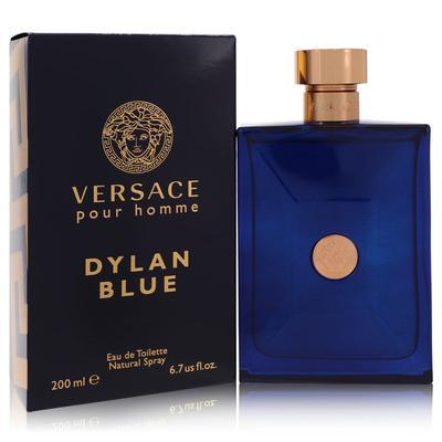 Versace Pour Homme Dylan Blue For Men By Versace Eau De Toilette Spray 6.7 Oz