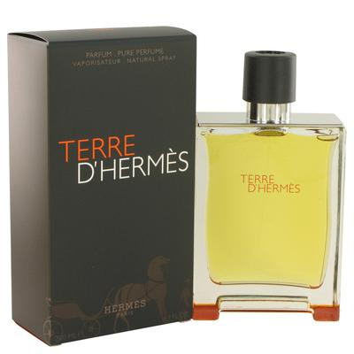 Terre D'hermes For Men By Hermes Pure Perfume Spray 6.7 Oz