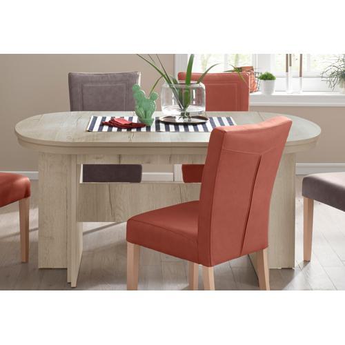 my home Kulissen-Esstisch Maxim, Breite 160-320 cm beige Ausziehbare Esstische Tische