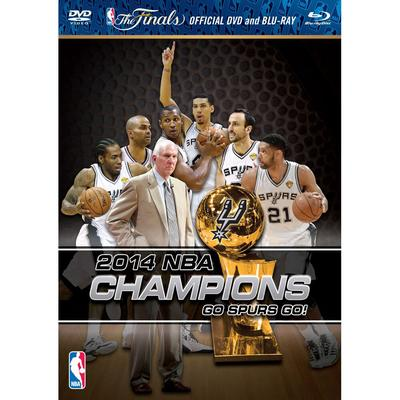 """San Antonio Spurs 2014 NBA Finals Champions Blu-ray/DVD Combo"""