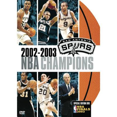 """San Antonio Spurs 2003 NBA Champions DVD"""