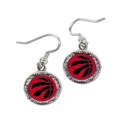 """""""Women's WinCraft Toronto Raptors Round Dangle Earrings"""""""