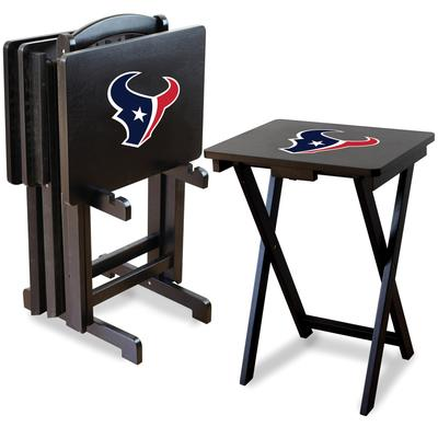 Houston Texans TV Trays with Stand
