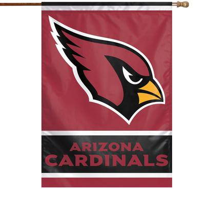 """WinCraft Arizona Cardinals 28"""" x 40"""" Primary Logo Single-Sided Vertical Banner"""