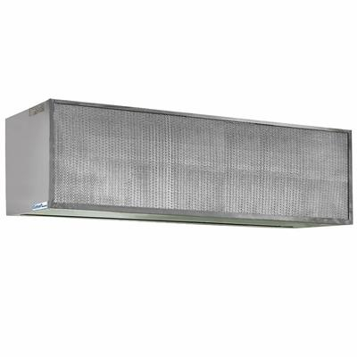 """Curtron S-IBD-36-1 36"""" Insect Control Air Curtain for Commercial Back Door - (1) Speed, Aluminum"""