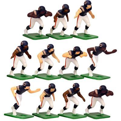 Chicago Bears Dark Uniform Action Figures Set
