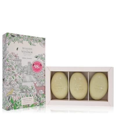 White Jasmine For Women By Woods Of Windsor Three 2.1 Oz Luxury Soaps 2.1 Oz
