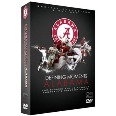 Alabama Crimson Tide 5-Disc Defining Moments: Stories Behind Football's Greatest Plays DVD Set