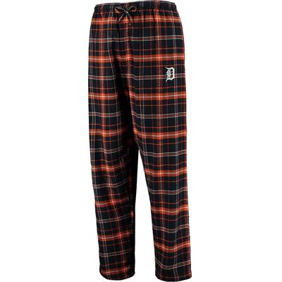 """Concepts Sport Detroit Tigers Navy/Orange Ultimate Plaid Flannel Pants"""