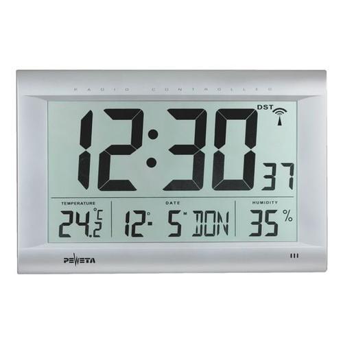 Funk-Digitaluhr 51.106.093, Peweta Uhren