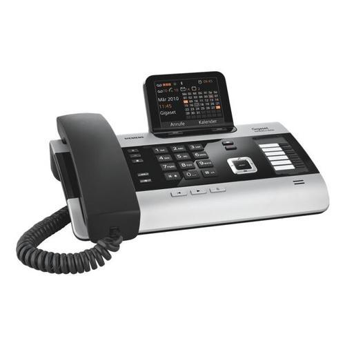 Schnurgebundenes Telefon »DX600A ISDN« grau, Gigaset
