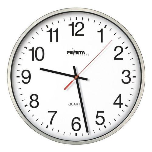 Quarz-Wanduhr 44.130.213 Ø 25 cm, Peweta Uhren