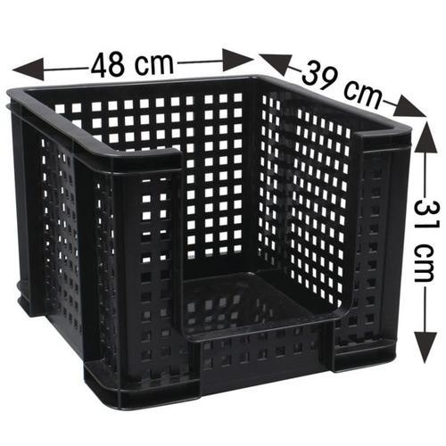 Aufbewahrungs-Gitterbox, Really Useful Box, 48x31x39 cm