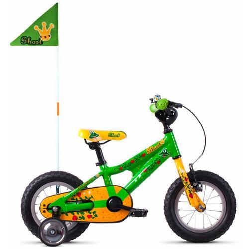 Ghost Kinderfahrrad POWERKID AL 12 K, 1 Gang grün Kinder Kinderfahrräder Fahrräder Zubehör