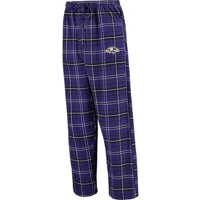 """Concepts Sport Baltimore Ravens Purple Ultimate Plaid Flannel Pajama Pants"""