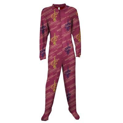 """""""Concepts Sport Cleveland Cavaliers Wine Grandstand Union Suit Pajamas"""""""