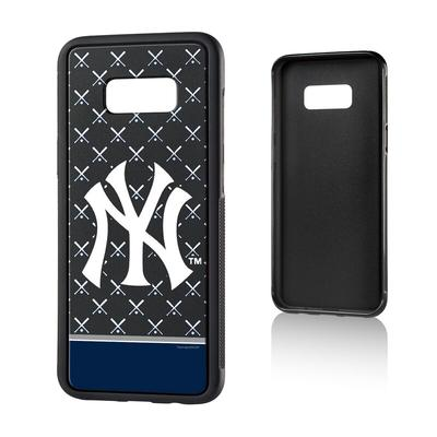 New York Yankees Galaxy S8 Plus Stripe Logo Bump Case