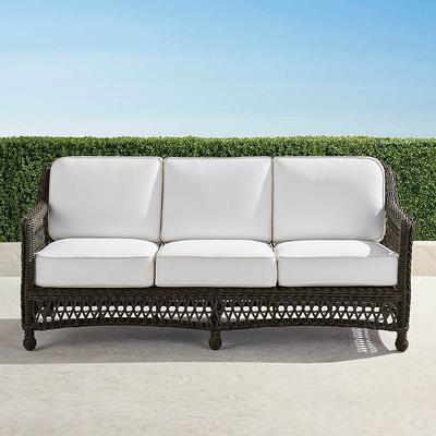 Hampton Sofa with Cushions in Bl...