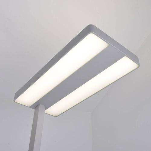Logan - LED-Büro-Stehlampe mit Dimmer