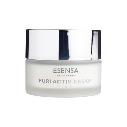 Esensa Mediterana Gesichtspflege Puri Essence - Unreine & ölige Haut Hydratisierende, talgregulierende & entzündungshemmende Creme Puri Activ Cream 50 ml