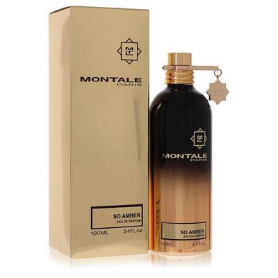 Montale So Amber For Women By Montale Eau De Parfum Spray (unisex) 3.4 Oz