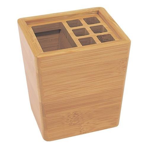 Köcher »Bambus« braun, Wedo, 9.6x10.8x8.5 cm