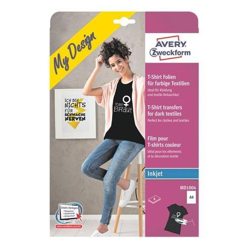 T-Shirt-Folien für dunkle Textilien, Avery Zweckform