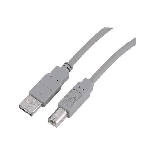 USB-2.0-Kabel A/B-Stecker 3 Meter, Hama