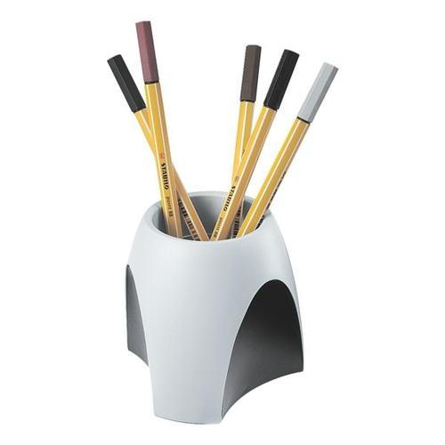 Stifteköcher »Delta« 1753 grau, HAN, 9.9x9.4x9.9 cm