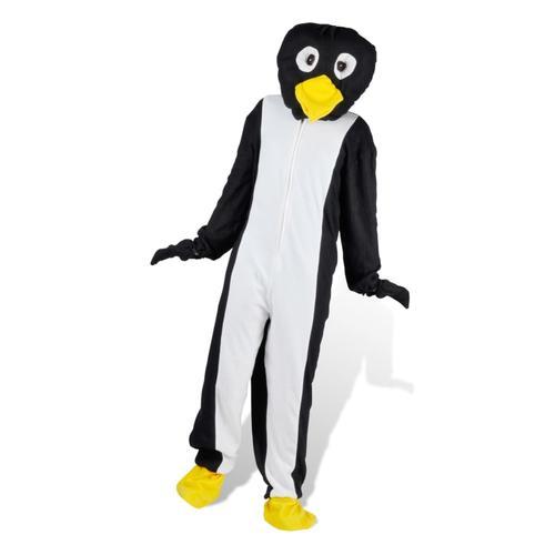 vidaXL Kostüm Pinguin Faschingskostüm Karneval M-L