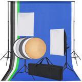 vidaXL Fotostudio-Set 5 farbige ...