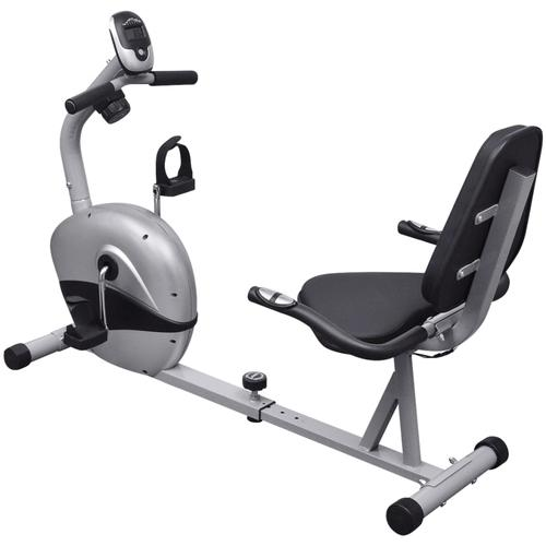 vidaXL Sitz-Ergometer mit 3 kg Schwungrad und Pulsmessung
