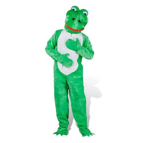 vidaXL Kostüm Frosch Froschkostüm Faschingkostüm Karneval M-L