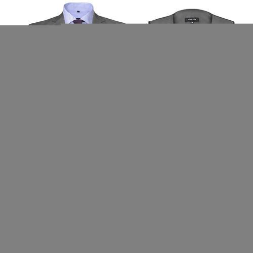 vidaXL Dreiteiliger Herren-Business-Anzug Größe 52 Grau