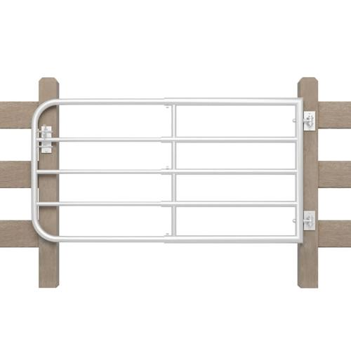 vidaXL Weidetor mit 5 Gitterstäben 170 x 90 cm