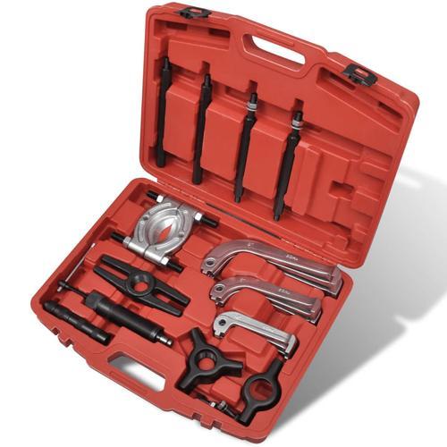 vidaXL Hydraulischer Abzieher Puller/Separator Werkzeugset 25 Stk.