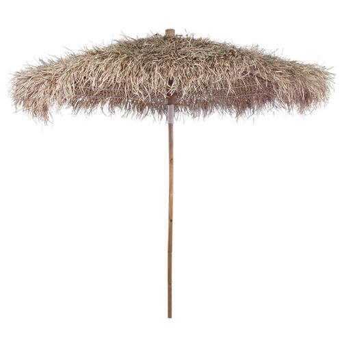 vidaXL Bambus-Sonnenschirm mit Bananenblatt-Dach 270 cm