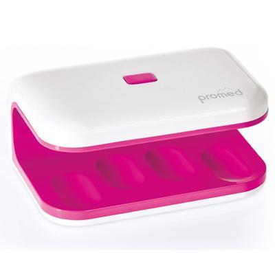Promed UV-Nageltrockner UV-LED 8 8 W Mini Rosa und Weiß 330035