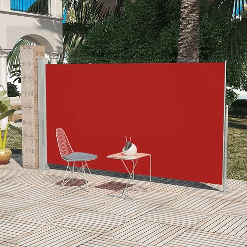 vidaXL Terrassenmarkise Seitenmarkise 180 x 300 cm Rot