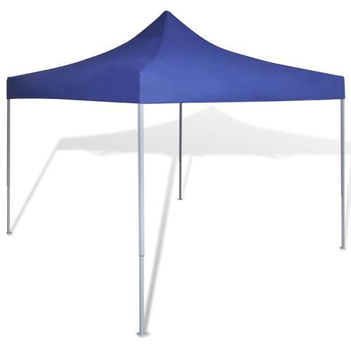 vidaXL Faltzelt 3 x 3 m Blau