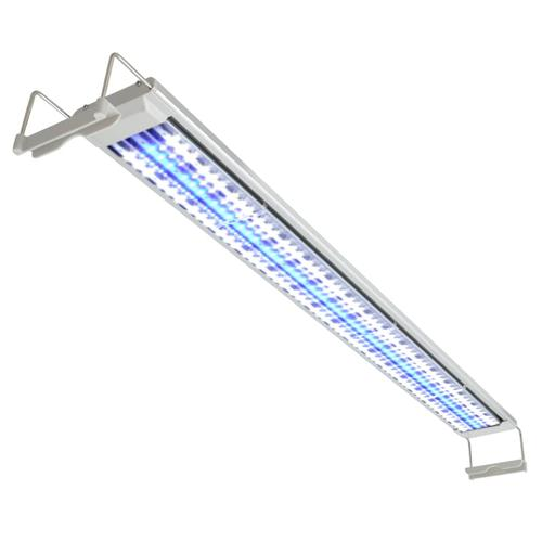 vidaXL Aquarium LED-Lampe 100-110 cm Aluminium IP67