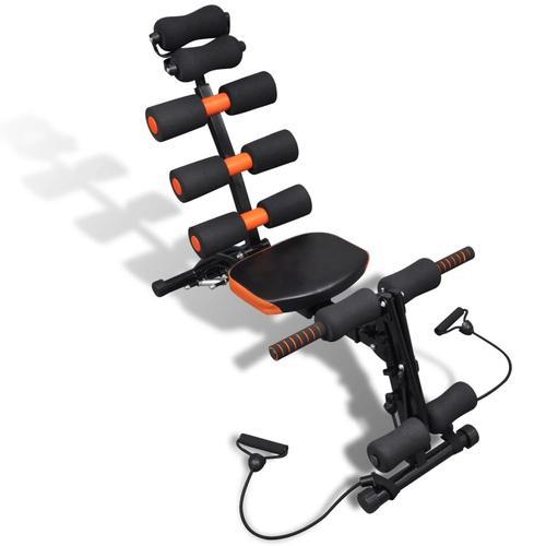 vidaXL Einstellbarer L-förmiger Bauchmuskeltrainer