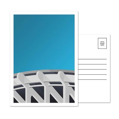 Washington Nationals RFK Stadium 5-Pack Minimalist Postcard Set